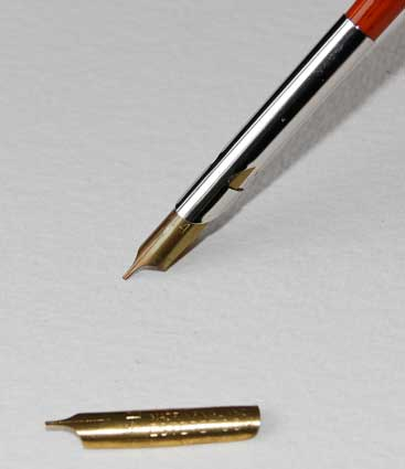 J And T 39 S Art And Calligraphy Straight Cut Vintage Dip